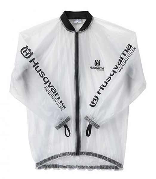 Husqvarna Rain Jacket Transparent